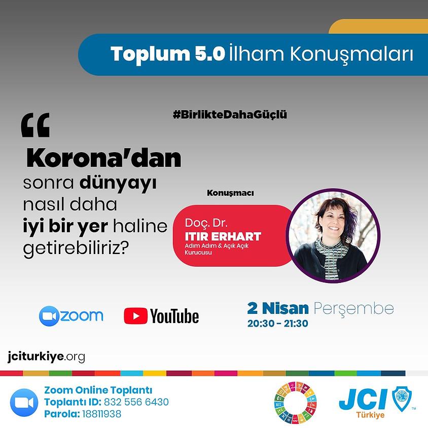 JCI Türkiye - Toplum 5.0 İlham Konuşmaları