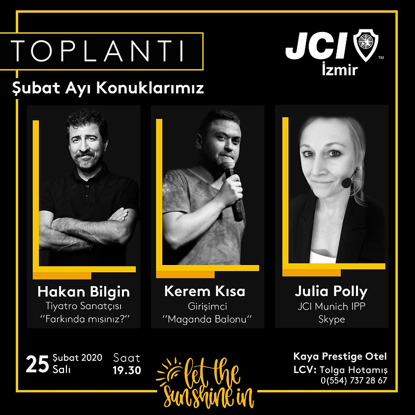 JCI İzmir Şubesi 2. Mutad Toplantısı