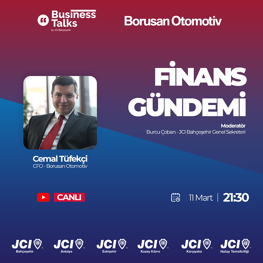JCI Bahçeşehir - CFO Paneli
