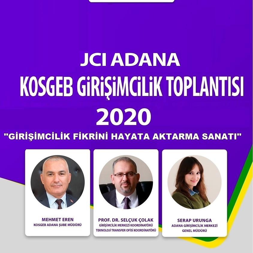 JCI Adana KOSGEB Girişimcilik Toplantısı