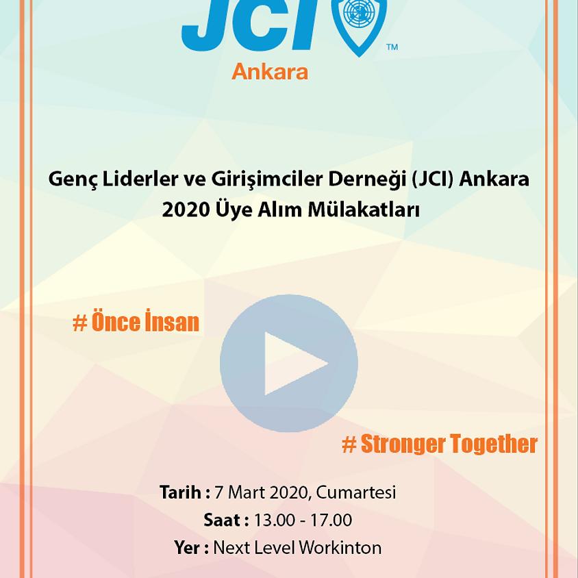 JCI Ankara | 2020 Üye Alım Mülakatları