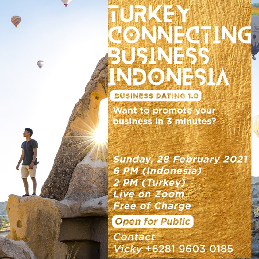 JCI Bahçeşehir Turkey Connecting Business Indonesia