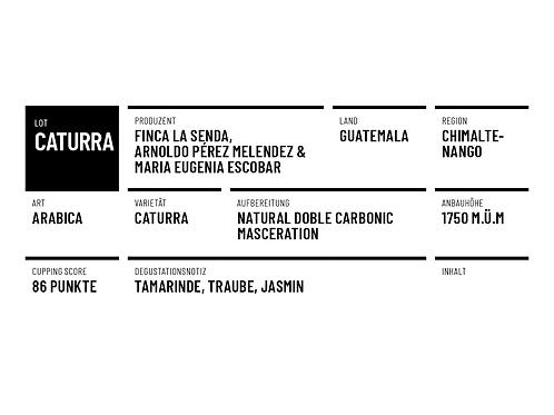 Rohkaffee Guatemala Caturra Carbonic Masceration