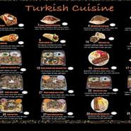 Turkish Cusine Menu