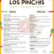 Los Pinchis Menu