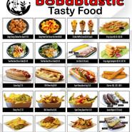 Bobablastic Tasty Food