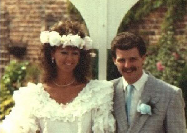 Eddie & Paula Wedding Day 1989