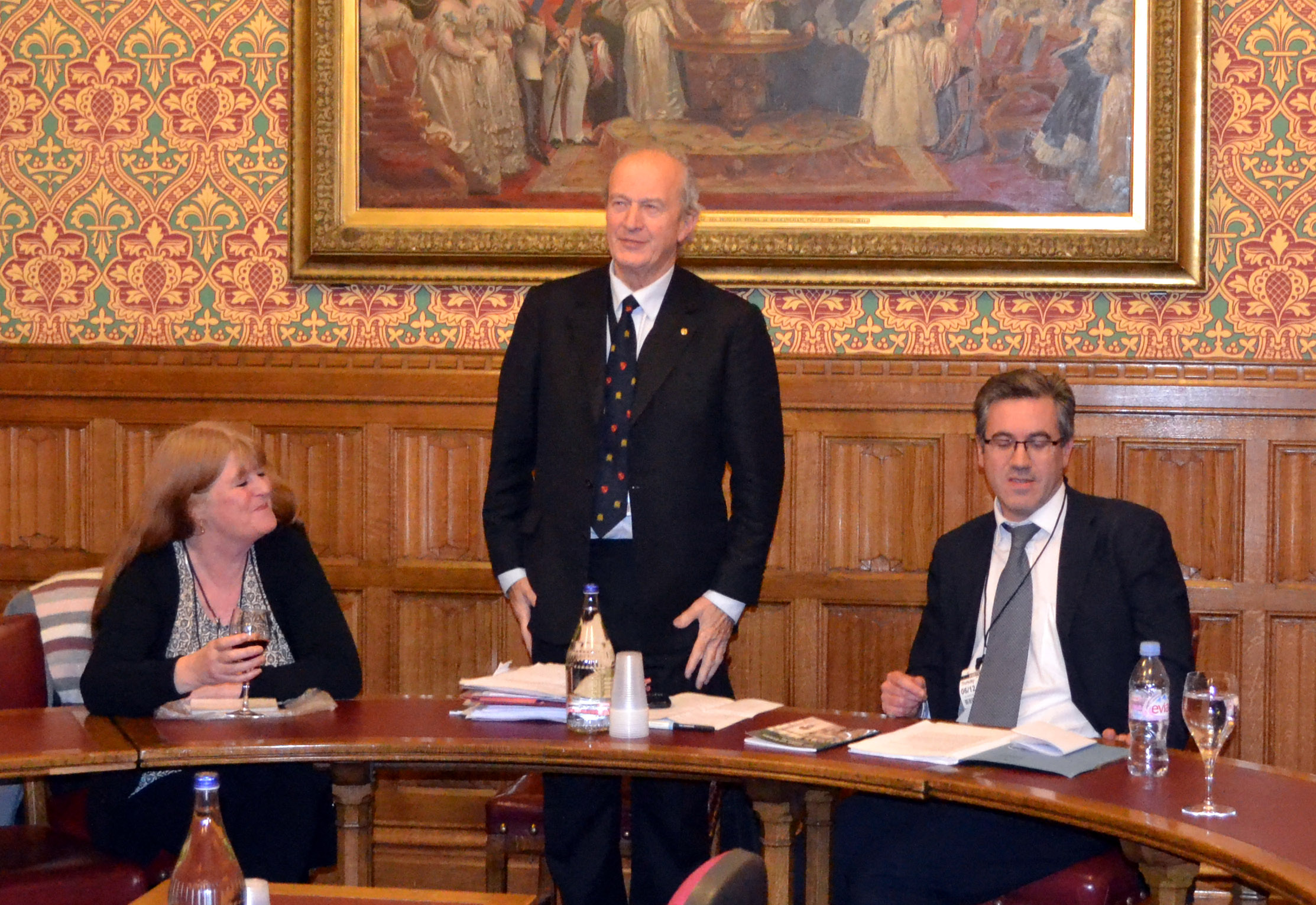 Lord Hunt  -  Booklet Launch
