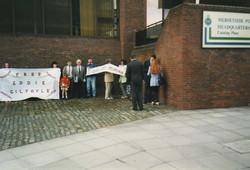 Merseyside Police HQ Demonstration