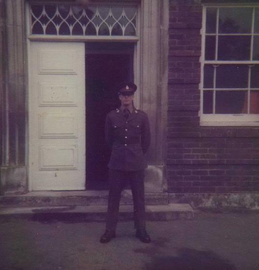 Eddie in the army