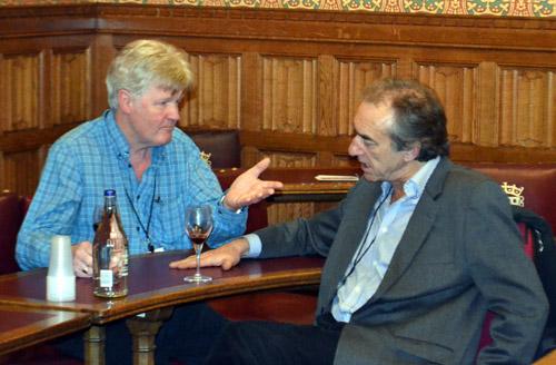 Paul Caddick and George Irving
