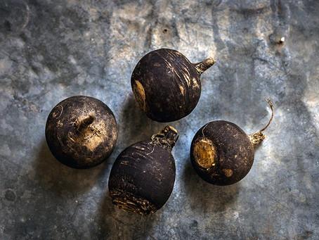 Légumes d'automnes#1 - Radis noir