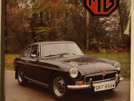 MG Owners club MGB GT SEC.