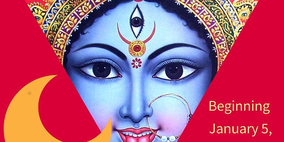 Kali Durga New Moons in 2019