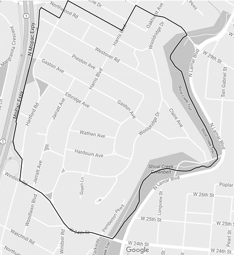 map of Pemberton Heights
