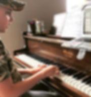 Composing his next masterpiece! 🎶 🎼 ✏️