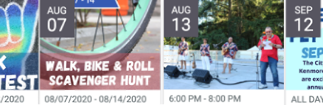 City Summer Events that are still on!