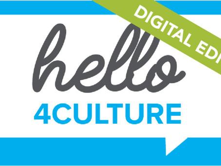 Hello 4Culture goes digital