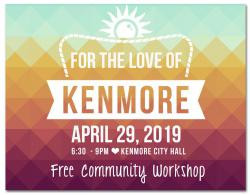For the Love of Kenmore Workshop Set for April 29th