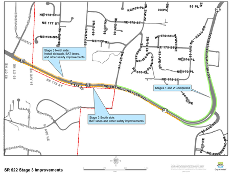 SR 522 construction nears completion
