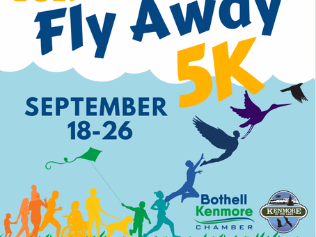 Fly Away Sept . 18-26: Run, roll, stroll, your choice!