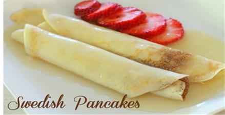 Drive-thru swedish pancake breakfast at Bothell Sons of Norway
