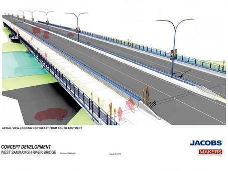 Federal shutdown delays Kenmore bridge project