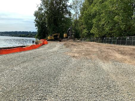 Work on Log Boom waterfront has begun