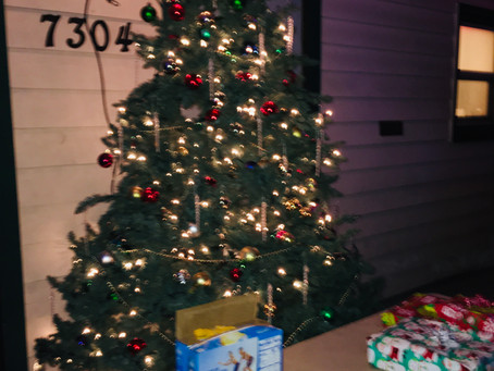 COVID White Elephant gift exchange provided holiday cheer