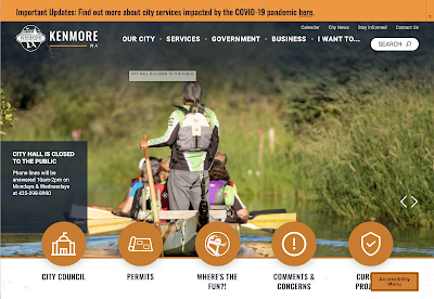 Kenmore city launches newlook website