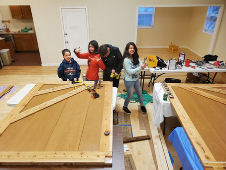 KCC kids close the barn door on activity space
