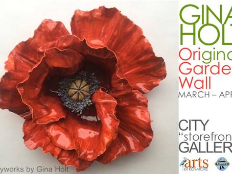 New installation highlights Gina Holt's paper botanicals