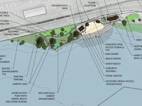 Log Boom Park design update
