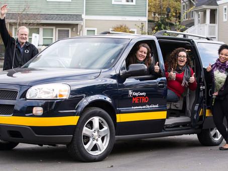 Kenmore, Kirkland and Metro launch new community van program
