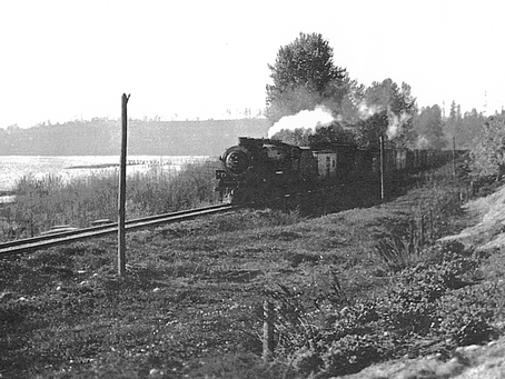 Sightseeing prompted building the Seattle Lake Shore & Eastern railroad