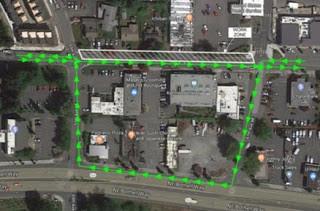 181st Sidewalk Improvements under way