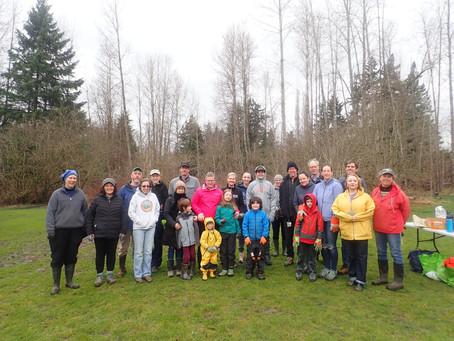 Wallace Swamp Creek Habitat Restoration Project celebrates one year of stewardship