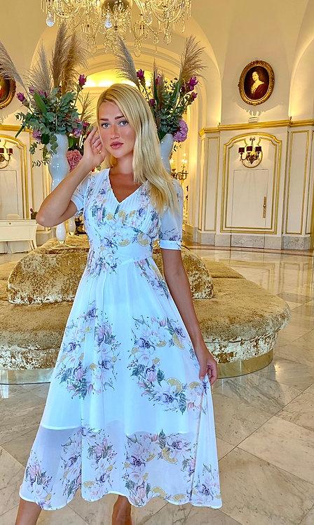 Alessandra 3/4 length dress