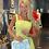 Thumbnail: Elegant fresh yellow pastel La Sanosia Dress