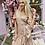 Thumbnail: Caroline Gold Champagne Wrap around Dress