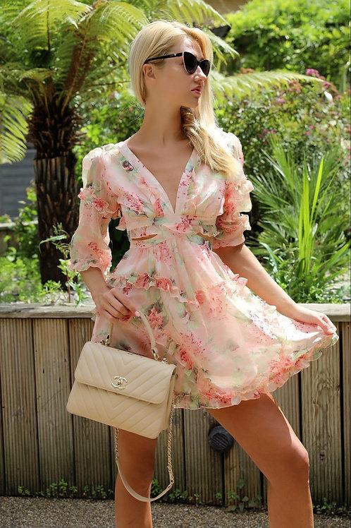 Cheryl Floral summer dress