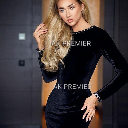 CWS Cocktail black elegant dress