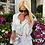 Thumbnail: Alessia White- Silver Tweed Suit
