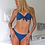 Thumbnail: Estelle Navy Blue Push up Bikini Set