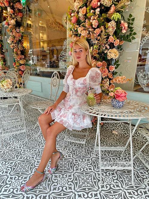 Diana Floral Dress