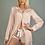Thumbnail: Seline Pastel pink Loungewear Pyjama Set