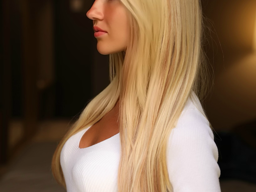 GLAMOROUS LOOK WITH BELLISA REMY NATURAL HAIR EXTENSIONS