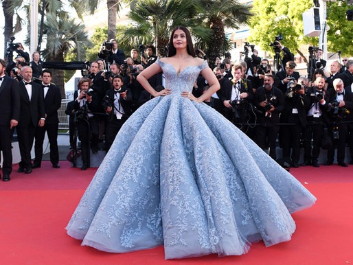 TECHNICOLOURED FASHION AT THE RED CARPET DURING THE CANNES FILM FESTIVAL