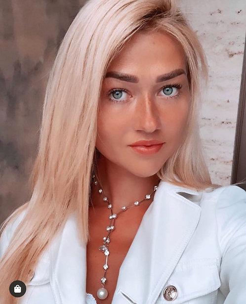 Silver Vozzi London necklace