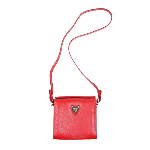 Luxurious MicroB Boxy Bag in Red RusiDesigns